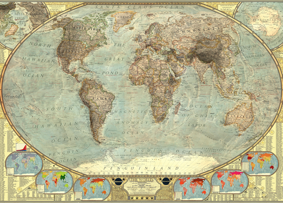 A World Map of Stereotypes