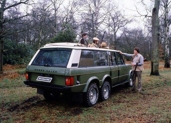 Wood & Pickett Cheltenham 6 Sheer Rover: When Two Axles Just Wont Do