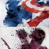 Superhero Splatter Art