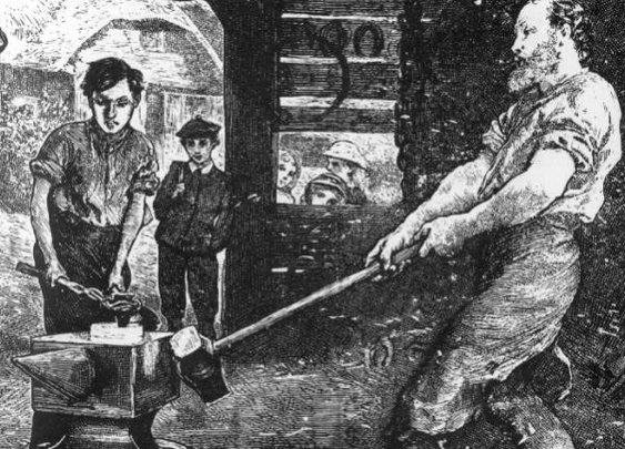 Blacksmithing for Beginners | The Art of Manliness