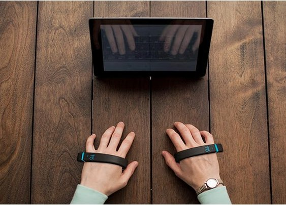 AirType: Keyless Keyboard Accessory