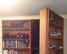 Secret Basement Bookcase Door | StashVault