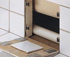Secret Tile Wall Compartment Brackets | StashVault
