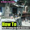 A Swing Set that Generates Electricity - SHTF Preparedness