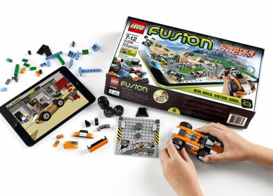 Lego Fusion merges physical brick-building and digital play