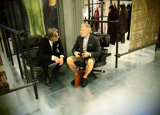 Interview: Nick Wooster Designs Collection for Lardini