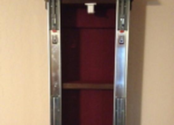 Secret Compartment Wall Clock   StashVault