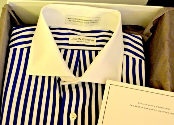 Custom Shirting Featuring John Byron