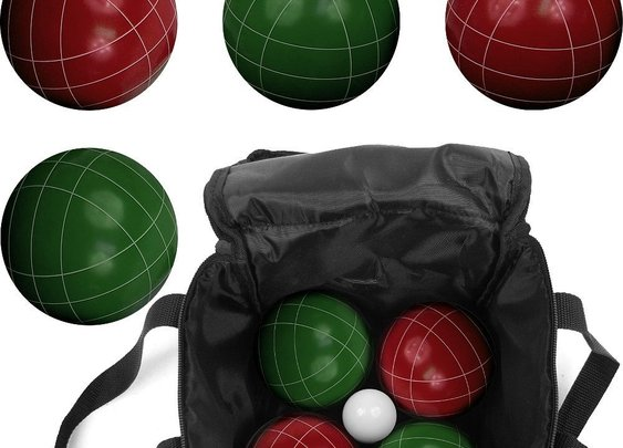 9 Piece Bocce Ball Set