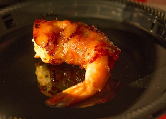 Grilled Bacon-Wrapped Stuffed Shrimp
