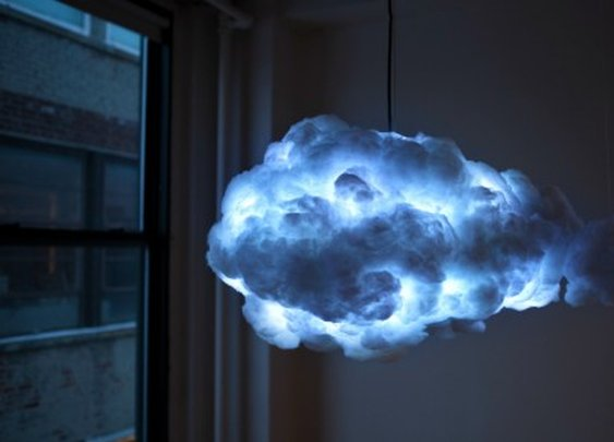 Cloud brings thunder and lightning inside your home