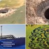 Giant hole appears in Siberia: Huge crater emerges in 'the end of the world'   Mail Online