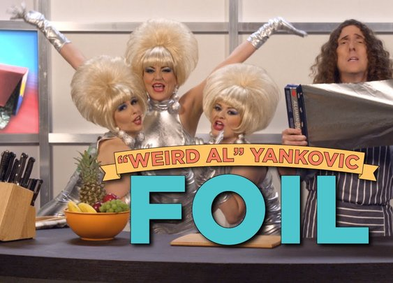 "Exclusive ""Weird Al"" Yankovic Music Video: FOIL (Parody of ""Royals"" by Lorde) - YouTube"