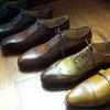 The purpose of shoe antiquing