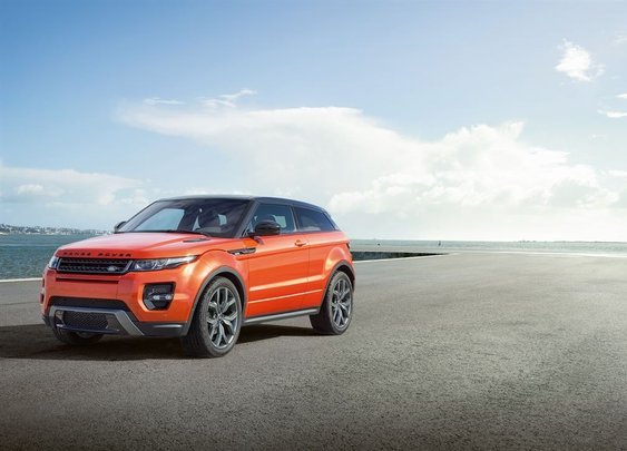 Range Rover Evoque Autobiography: More Power