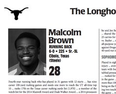 """Texas Misspelled """"Texas"""" On The Footer Of Every Player Bio In Its Media Guide"""