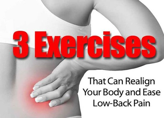 3 Exercises That Can Realign Your Body and Ease Low-Back Pain - SHTF, Emergency Preparedness, Survival Prepping, Homesteading