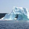 Video, terrifying moment iceberg collapsed, unleashing tidal wave