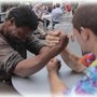 Homeless Guys Arm Wrestle For Money!