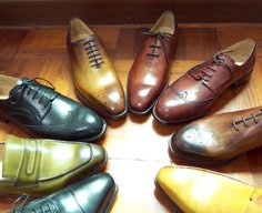 Patina Shoes Circle