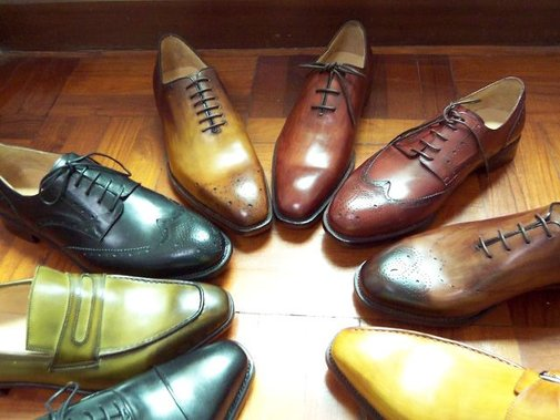 Patina Shoes Circle