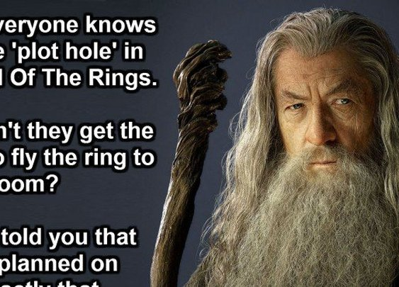 This Guy Just Changed The Way We See Lord Of The Rings. Mind Blown.