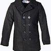 Classic 32 Oz. Melton Wool Naval Pea Coat 740