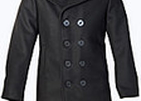 Classic 32 Oz. Melton Wool Naval Pea Coat 740