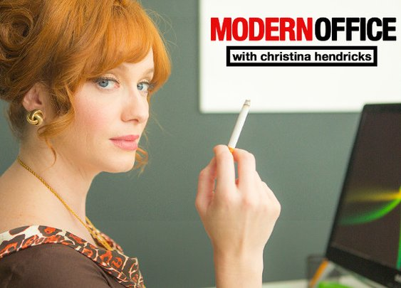 Modern Office with Christina Hendricks from Funny Or Die