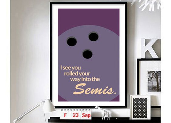 The Big Lebowski - 'Semis.' - wall art
