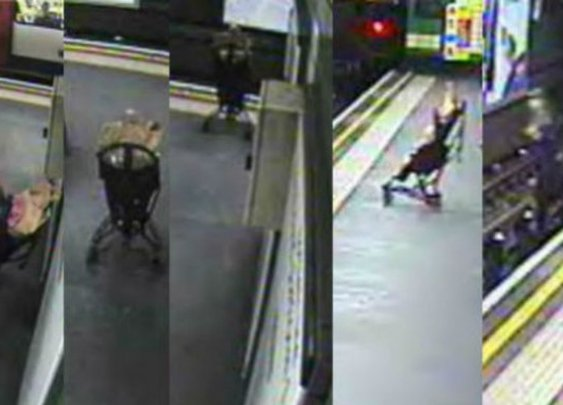 Toddler Rescued From Train Tracks Seconds From Death