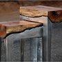 Aluminum and Wood Fusion Furniture