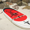 Corran Hydra take-apart paddleboard rides to the lake in your Lambo