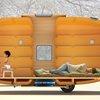 Taku-Tanku portable tiny house can be towed by bike