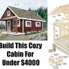 Build This Cozy Cabin For Under $4000 - SHTF, Emergency Preparedness, Survival Prepping, Homesteading