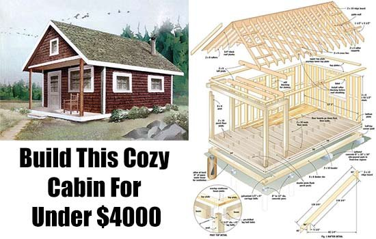 Build This Cozy Cabin For Under 4000 Shtf Emergency