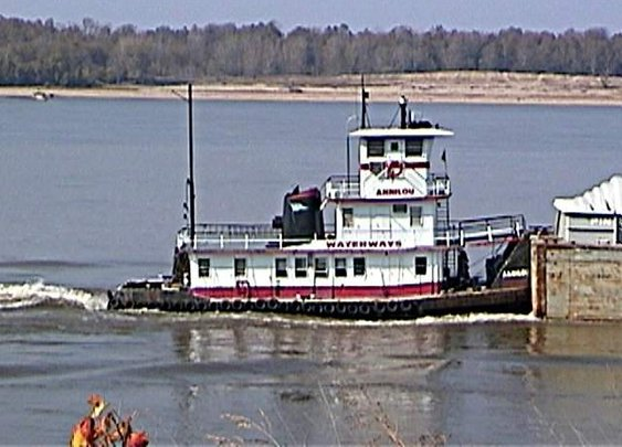 Maggie Leavell, Towboats, Pushboats, Barges, Mississippi, Ohio, River, Towboat, Barge