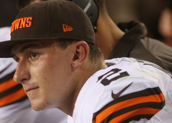 Browns Impressed By Johnny Manziel's Chemistry With Bench