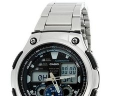 Casio Youth-Combination Chronograph Black Dial Men's Watch