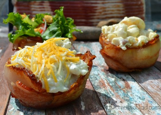 3 Bacon Wrapped Tailgate Ideas for Football Season #sp