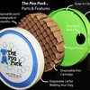 Poo Puck cleans up dog waste with ease