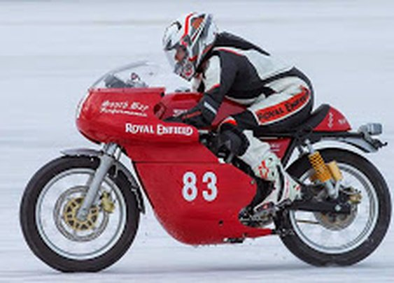 Royal Enfield Continental GT proves itself at Bonneville
