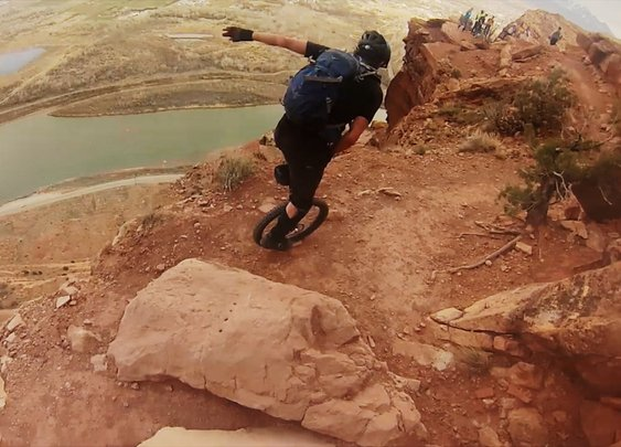GoPro: Unicycling Moab - YouTube