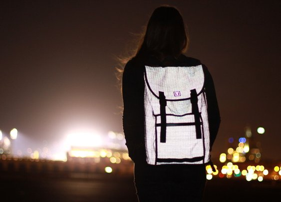 Amazing Reflective Backpack Kickstarter - Loaded Pocketz