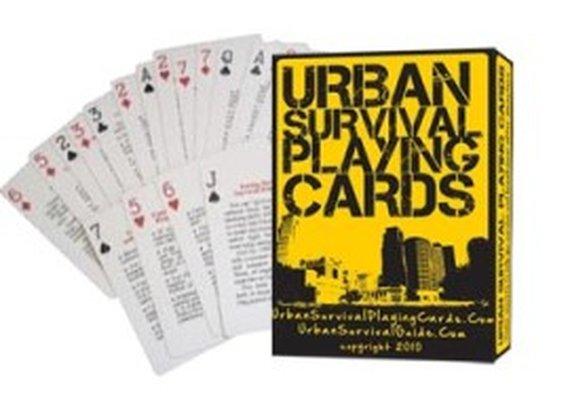 FREE Urban Survival Playing Cards