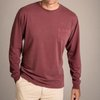 Long Sleeve Pigment dyed crew