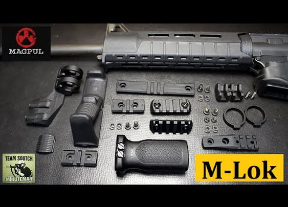 Magpul's New M-lok Accessories
