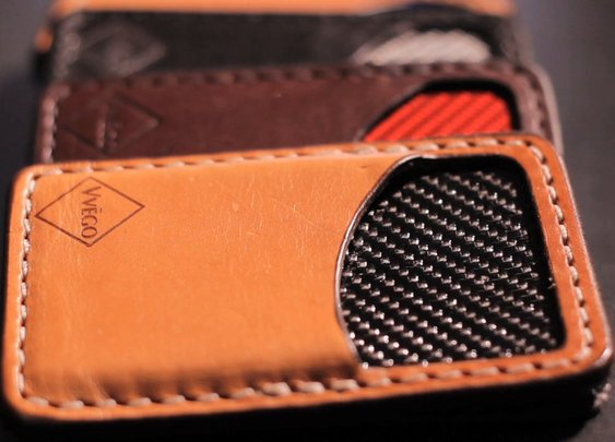 The Vvault Front Pocket Wallet by Vvego International