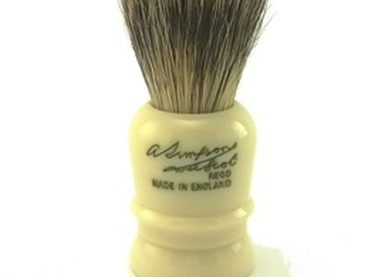 Simpsons Wee Scot Best Badger Brush