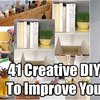 41 Creative DIY Hacks To Improve Your Home - SHTF & Prepping Central
